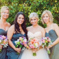 Bridesmaids Bouquets and Brides Bouquets