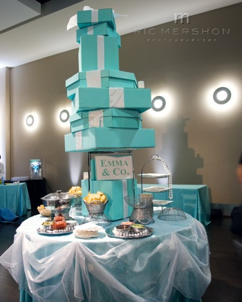 Breakfast At Tiffany S Theme Bat Mitzvah 187 Tulip